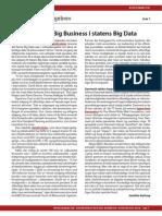 Erhvervsliv ser Big Business i statens Big Data