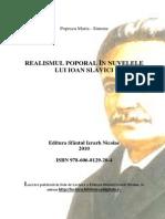 Realismul Poporal in Nuvelele Lui Ioan Slavici- Maria Popescu