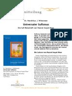 Universaler Sufismus - Pressemitteilung