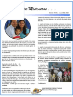 Boletin 146 Informe Misionero Nicaragua - Enero 2010