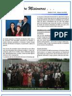 Boletin 147 Informe Misionero Guatemala - Febrero 2010