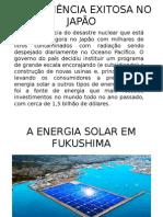 Modelos de Energia Solar No Japão