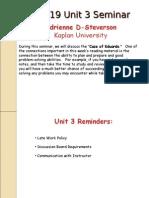 ADS Unit 3 Seminar