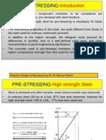 Prestressing-Mateirals