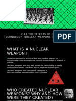 2 11 the effects of technology- nuclear weapons