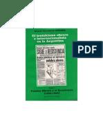 El trotskismo obrero e intemacionalista en la Argentina. Tomo 2. Palabra Obrera y la Resistencia (1955-1959)