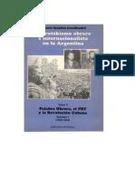 El trotskismo obrero e internacionalista en la Argentina. Tomo 3. Palabra Obrera, el PRT y la Revolución Cubana. Volumen 1 (1959-1963)