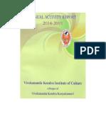Annual Activity Report 2014 2015