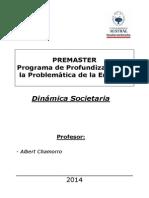 Dinámica Societaria - Albert Chamorro - Premaster Año 2015