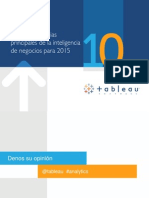 Top 10 trends in busines sintelligence for 2015