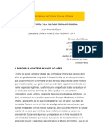 Violeta Parra y La Cultura Popular Chilena