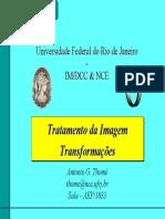 Tratamento Da Imagem - Transformações