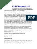 Biografi Nabi Muhammad SAW