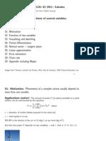 Math1231 i Fosv Slides s2 2015