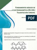 Fundamentos de Teledetección Rem 2014 -i