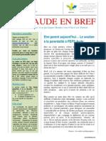 Bulletin PEPS Aude en Bref 2ème Trimestre 2015
