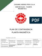 Plan de Contingencia -Magnetica