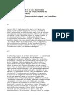 Organisation du travail -  Louis Blanc
