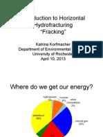 Shalegas fracking for usa