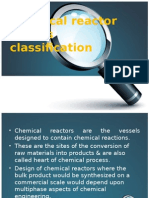 Chemical Reactor and Its Classification