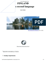 Finnish as a Second Language