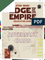 Adversary Cards