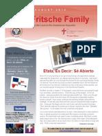 Fritsche Family Newsletter