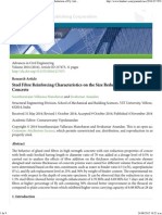 Steel Fibre Reinforcing Characteristics on the Size Reduction of Fly Ash Based Concrete