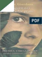 Paolo Giordano - Singuratatea numerelor prime.pdf