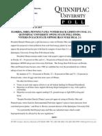Quinnipiac Swing State Iran Deal Poll