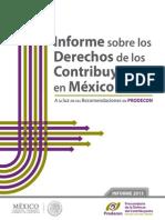 Informe Sobre Los Derechos de Los Contribuyentes 2013