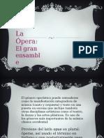 Ópera. Taller de música y literatura.