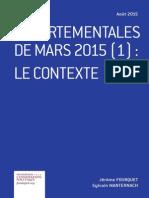 Jérôme Fourquet et Sylvain Manternach – Départementales de mars 2015 (1)