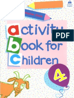 Activity Book for Children 4
