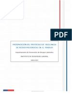 Presentación Del Protocolo de Vigilancia RPST