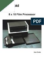 8 x 10 Film Processor