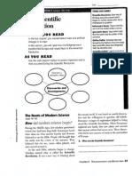 scientific revolution work sheet