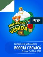 GUÍA CAMPAMENTO CONQUISTADORES