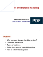 Lecture7 - Equipment and Material Handling