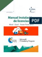 Instructivo Para Instalar Las Licencias de Office 365