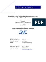 SAIC Boiler Efficiency Projects