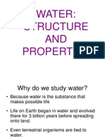 Water Structure and Properties