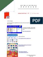Newsletter 07/BE Sernancelhe