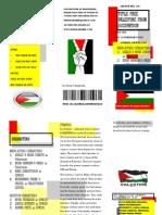 sketch for palestinian in UITM KEDAH
