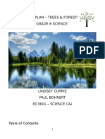 ed3601 - grade 6 trees   forests unit plan updated