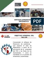Enfoquecurricular de La Matematicas y Las r.a.