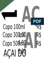 Açai Do Jacaré