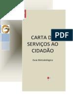 Carta de Serviços Ao Cidadão - Guia Metodológico
