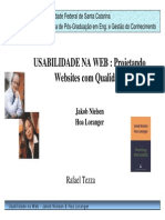 USABILIDADE NA WEB - Projetando Websites Com Qualidade