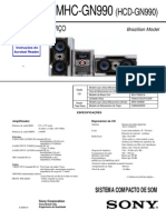 service manual Sony Mhc Gn990